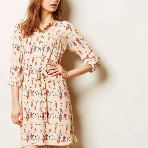 Anthropologie Dresses & Skirts - Anthropologie Dolan Wanderlust Aztec Print Dress